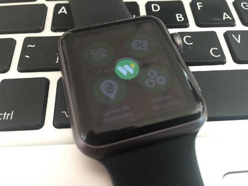 Apple Watch inhibits